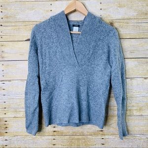 J. Crew Pullover Sweater Wool Cashmere  Grey small